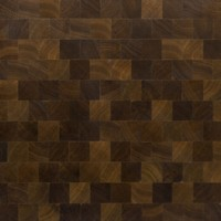Fumed Oak Squares with Natural Oil